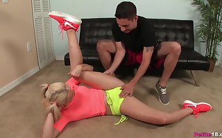 Adorable Aubrey Gold's trainer has something else in mind