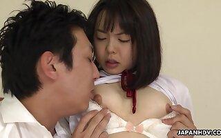 Tongue Dissemble Plus Creampie For Skinny Japanese Tomoyo Isumi