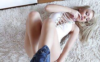 Amazing ass banging be worthwhile for alluring blonde slut Kira Thorn
