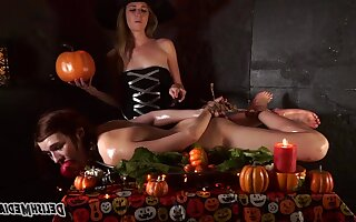 The Suffering - Four witches in fetish lesbian femdom with bondage