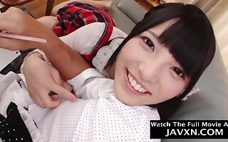 Beautiful, Asian schoolgirl is gender her step- father better than any other chick and enjoying in the money