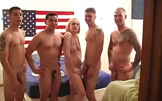 Georgia Fucks Em In all directions from - hot gangbang
