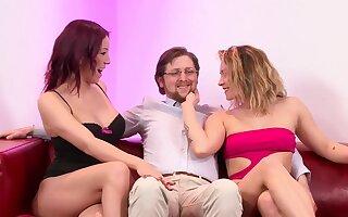 Paradise Films - Nerdy Threesome