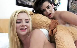playmates have sexual intercourse in car increased by dare game group xxx Bear